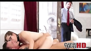 Cheating Fuckslut Caught By Husband - PunishTeensHD.com
