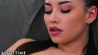 Caught Fapping - Stepdad Caught Her Playing With Her Pussy !