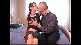 Daddy seduced and fucked young virgin daughter-in-law REAL