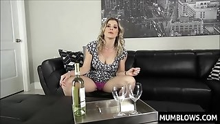 Drunk Mummy fucked by Son-in-law