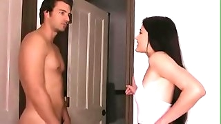 Hot Step Sister Got Plowed Hard By Her Step Brother