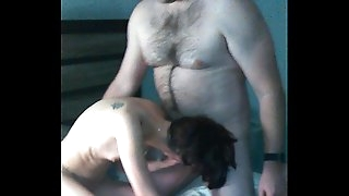 Amateur homemade MFM skinny wifey collective and tagteamed