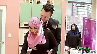 FamilyStroke.net - Arab Daughter Got Bro's Cock