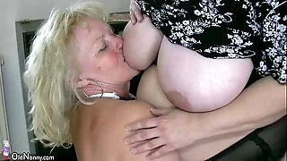 OldNanny Marvelous chubby mature and plumper granny