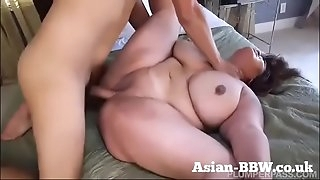 BBW Asian with Gigantic Titties Fucked by Photographer - more at BBW-Asian.com